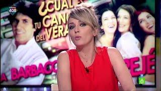 """Anna Simon, defendiendo su canción: """"Yo soy muy fan de"""