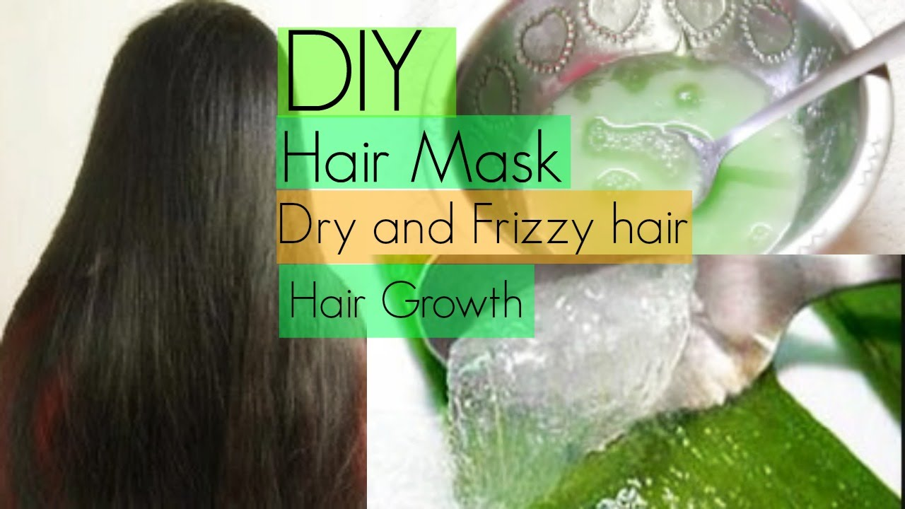 Diy Hair Mask For Dry Frizzy And Fast Hair Growth Insidebeautyno1 Youtube