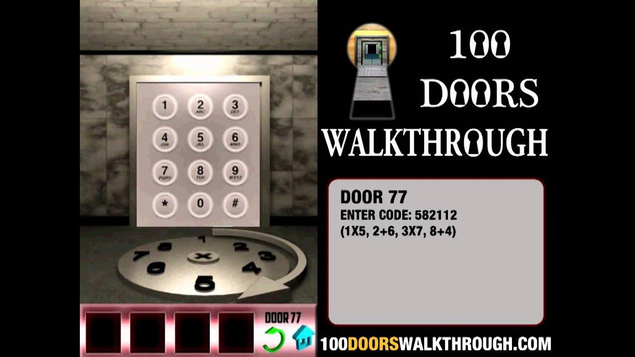 100 Doors 77 100 Doors Level 77 | Android Walkthrough | 100 Doors - Door 77 | 100 Doors Walkthrough - YouTube & 100 Doors 77 100 Doors Level 77 | Android Walkthrough | 100 Doors ...