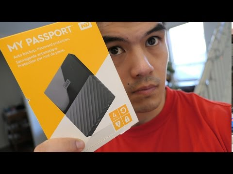 Amazon Best Selling External Hard Drive -  Western Digital Passport