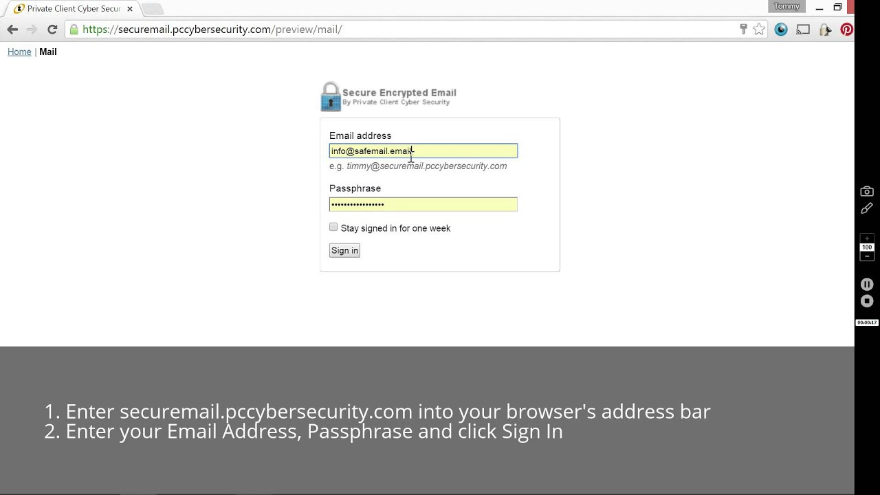 Secure Email   encryption to keep your data safe