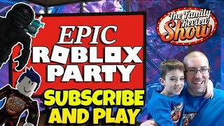 Epic Roblox Party 🔵🐧 We're Baaaack!