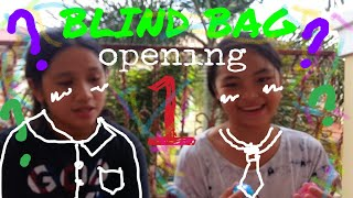 Blind bag opening pt.1 || with civi