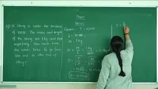 I PUC | Physics | Waves-09