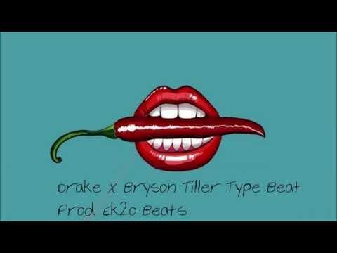 Drake x Post Malone x Bryson Tiller Chill RnB Type Beat '1nite' (Prod. Ek2o Beats)