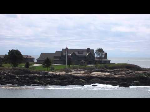 President Bush Home - Bush Compound - Walker's Point Maine - Kennebunkport