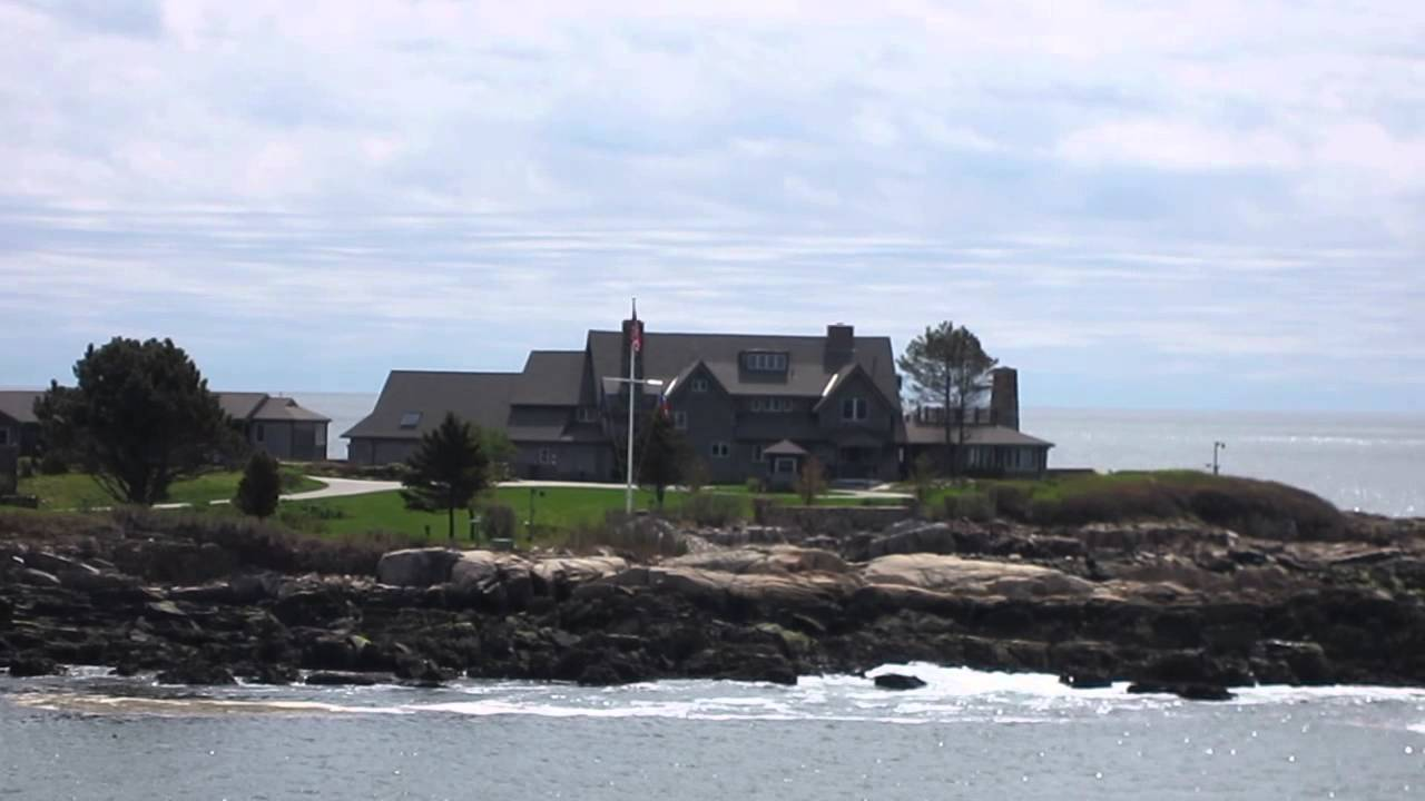 President Bush Home Bush Compound Walker S Point Maine