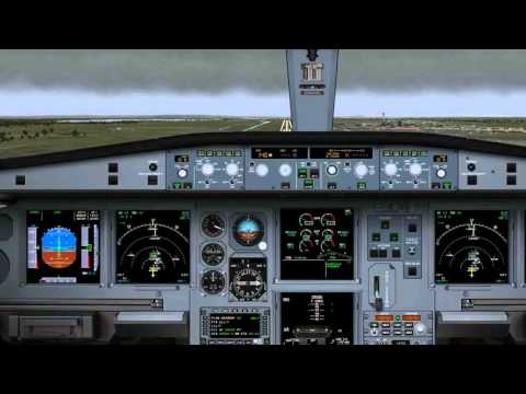 IFR landing at London Heathrow Airport