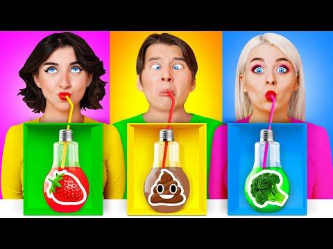 गलत रहस्य पेय का चयन न करें चुनौती #4 | शरारत युद्धों Multi DO Challenge