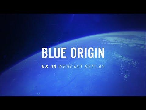 Watch Blue Origin Launch a Rocket Stuffed With NASA Gear