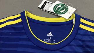 Sweden World Cup Away Jersey 2018 - cheapsoccerjersey.org