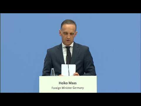 LIVE: German foreign minister and U.N. secretary-general hold conference