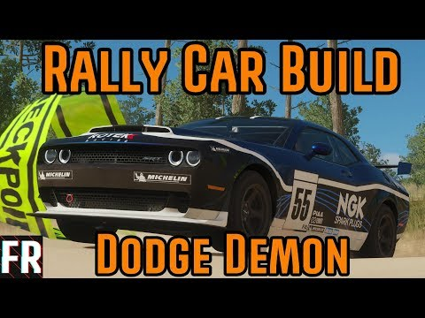 Forza Horizon 4 - Rally Car Build - Dodge Challenger Demon thumbnail