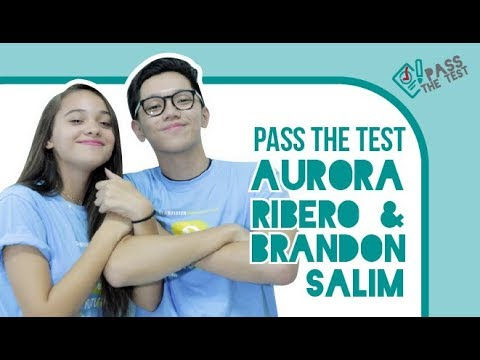 Brandon Salim & Aurora Ribero Adu Main Kuis Pass the Test