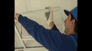 Монтаж потолка Армстронг - краткий курс(Монтаж потолка Армстронг. Как правильно выполнить установку подвесного потолка. Цены на материалы и работы..., 2013-01-05T21:53:16.000Z)