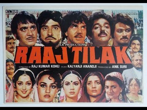 Download Raaj Kumar, Sunil Dutt, Dharmendra, Hema Malini, Kamal Haasan | Superhit hindi movie #raajtilak