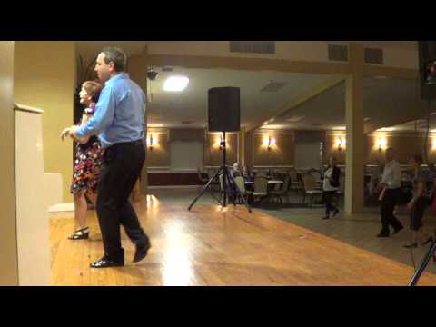 CUMBIA SEMANA Line Dance @ 2013 December FRENCH ALLIANCE DANCE PARTY in Deerfield Beach FLORIDA Travel Video