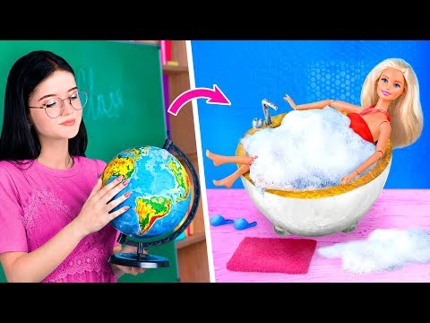 Мебель и аксессуары для Барби из канцелярии – 7 идей
