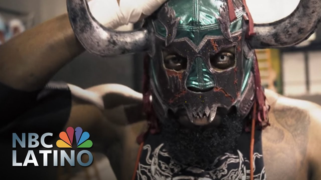 Lucha Libre Youtube Fighting For His Mask The Life Of A Lucha Libre Wrestler Nbc Latino