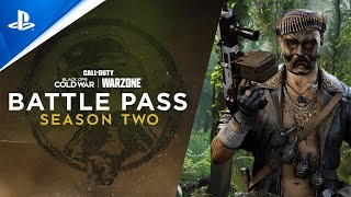Call of Duty: Black Ops Cold War \u0026 Warzone | Season Two Battle Pass Trailer | PS5, PS4