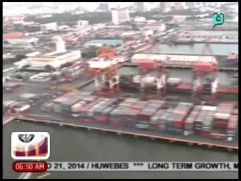 Mahigit $5-B ang nawawala sa 'shipping industry' kaugnay sa 'truck ban' sa Manila — AISL [08/21/14]