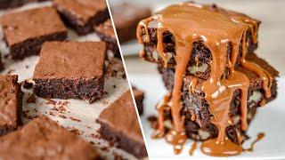 видео Рецепт - Шоколадный чизкейк-брауни
