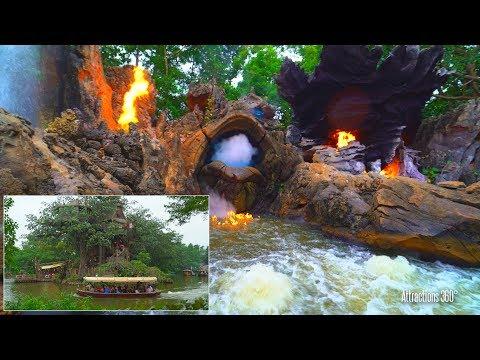 [4K] Jungle Cruise Ride - Hong Kong Disneyland 2017 with Grand Finale