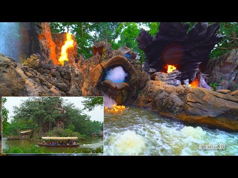 [4K] Jungle Cruise Ride - Hong Kong Disneyland 2017 with Grand Finale