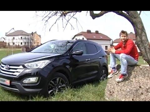 Hyundai Santa Fe тест драйв программы Автопанорама