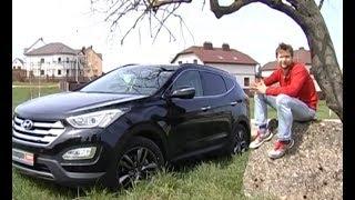Hyundai Santa Fe 2.2 дизель: тест-драйв программы Автопанорама