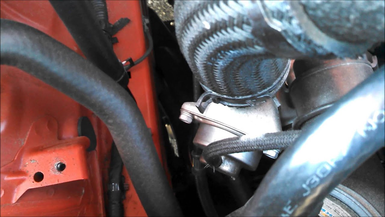 Genesis Coupe Oem Recirculation Valve Leak Youtube