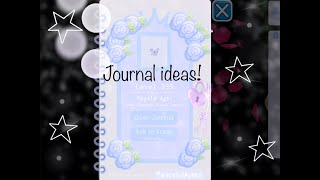 How To Make An Aesthetic Journal Royale High Herunterladen If you came across any new working codes please us know in the comment and we will update the list above. aesthetic journal royale high