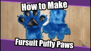 How to make puffy hand paws for fursuits --------- Patreon: https:/...