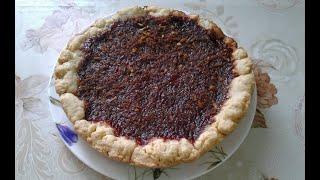 Песочный пирог с вишневым вареньем повидлом в мультиварке