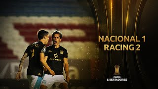 Nacional vs. Racing Club [1-2] | RESUMEN | Fase de Grupos | Jornada 5 | Libertadores 2020