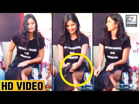 Katrina Kaif's OOPS MOMENT In Front Of Salman Khan's ...