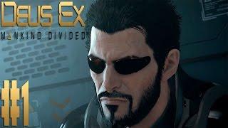 Прохождение Deus Ex Mankind Divided на Максимальной Сложности Настоящий Deus Ex на русском языке Выпуск 1  Дубай Следу