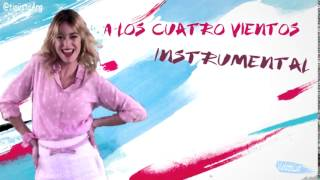 Martina Stoessel & Rock Bones - A Los Cuatro Vientos - Instrumental Oficial