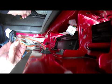 dodge ram rear door wiring harness issues quick fix youtube. Black Bedroom Furniture Sets. Home Design Ideas