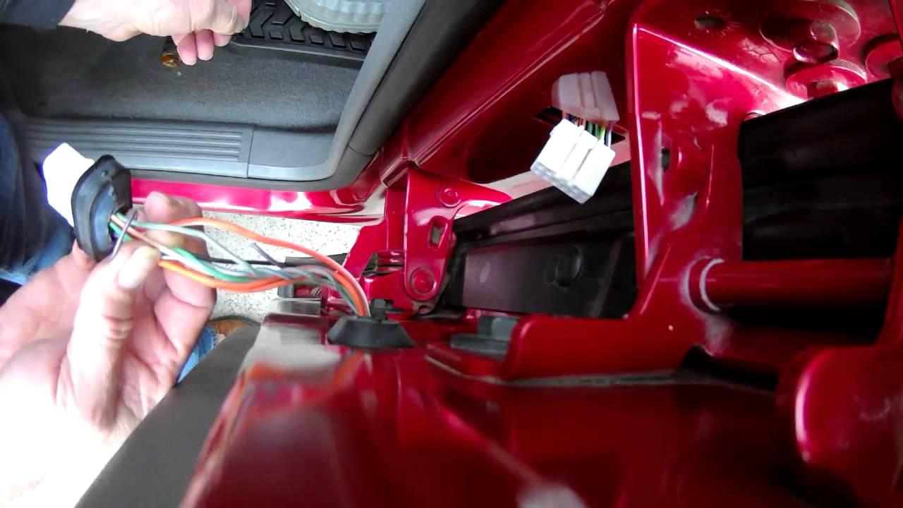 Dodge Ram Rear Door Wiring Harness Issues Quick Fix  YouTube