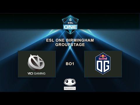 [ESL ONE BIRMINGHAM] - OG vs VICI GAMING - Group GSL - Opening Match