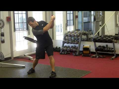 GOLF FITNESS routine with the cable machine