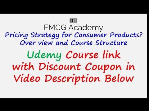 Pricing Strategy for Consumer Products (FMCG) Overview & Course Structure