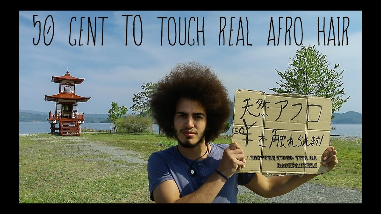 Travel around the world-50$ TO TOUCH REAL AFRO HAIR