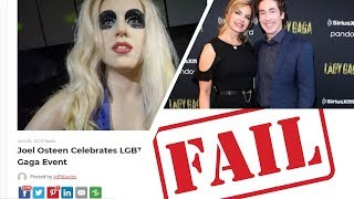 Joel Osteen Celebrates LGBTQ Pride at Lady Gaga Event