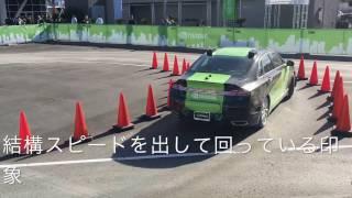 CES2017で体験走行していたBB8の走行風景です。ドライバーシートには誰...