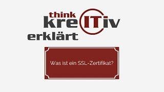 kreITiv erklärt... Was ist ein SSL-Zertifikat?