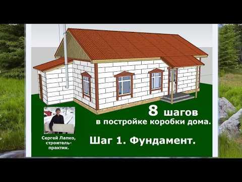 видео: ✔ Сам Себе Дом 4.0. Шаг 1 - Фундамент [Построить дом своими руками]