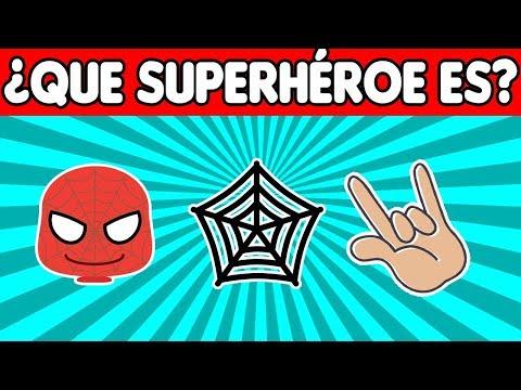 ¿Puedes Adivinar Que Superhéroe Es SOLO Con EMOJIS?