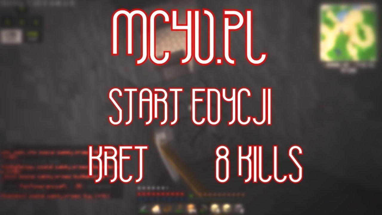 [MC4U.PL] | START EDYCJI | 8 KILLS | JESTE KRETE | W/HUBERT